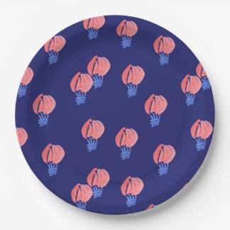 Prato De Papel Placa de papel de balões de ar grande