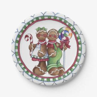 Prato De Papel Placa de papel de bastão de doces do pirulito do