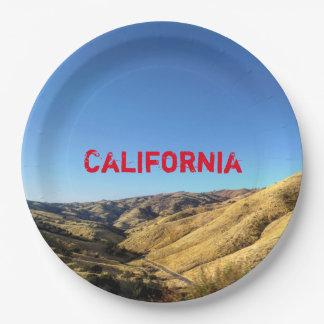 Prato De Papel Placa de papel de Califórnia