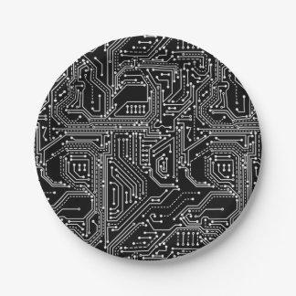 Prato De Papel Placa de papel de conselho do circuito do