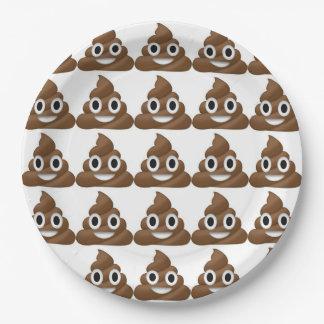 Prato De Papel Placa de papel de Poo