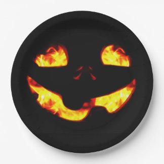 Prato De Papel Placa de papel de queimadura de Jack