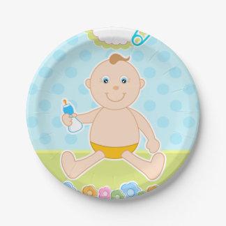 Prato De Papel Placa de papel do bebé