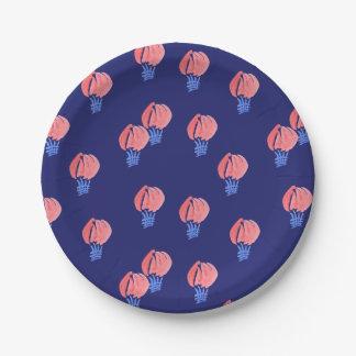 Prato De Papel Placa de papel pequena de balões de ar