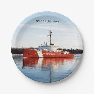 Prato De Papel Placa de papel vermelha de WAGB 83 Makcinaw