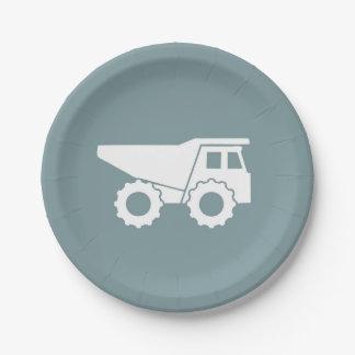 Prato De Papel Placa do camião basculante das placas de papel do
