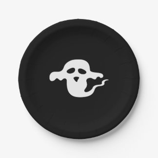 Prato De Papel Placa do partido do fantasma