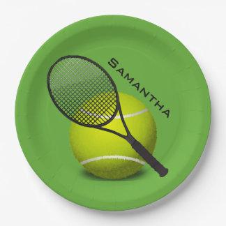 Prato De Papel Placa do partido do papel do design do tênis