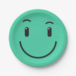 Prato De Papel Placas de papel 2/9 do smiley bonito