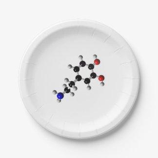 Prato De Papel placas de papel brancas de 6Tymes9 Dopemine