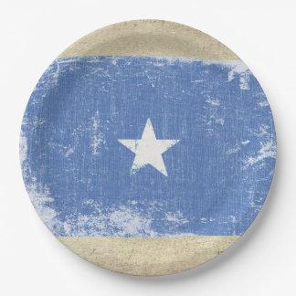 Prato De Papel Placas de papel da bandeira de Somália
