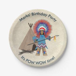 Prato De Papel Placas de papel da festa de aniversário do chefe