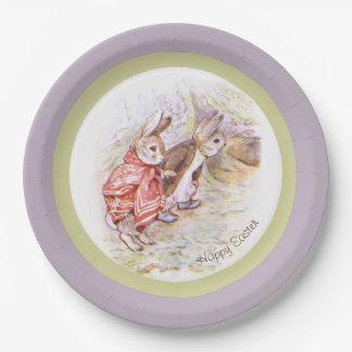 Prato De Papel Placas de papel de Beatrix Potter