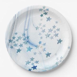 Prato De Papel Placas de papel de Starfishs