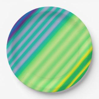 Prato De Papel Placas de papel do contraste diagonal