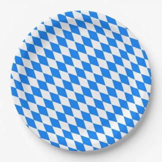 Prato De Papel Placas de papel do partido bávaro de Oktoberfest