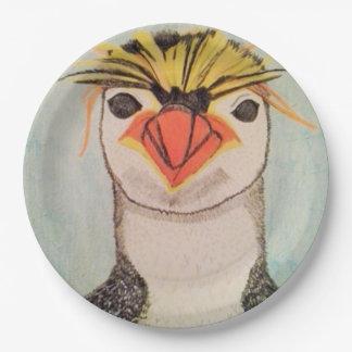 Prato De Papel Placas de papel do pinguim