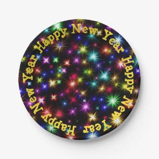 Prato De Papel Placas de papel dos fogos-de-artifício festivos do
