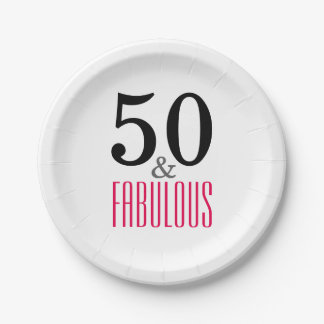 Prato De Papel Placas de papel festa de aniversário elegante do