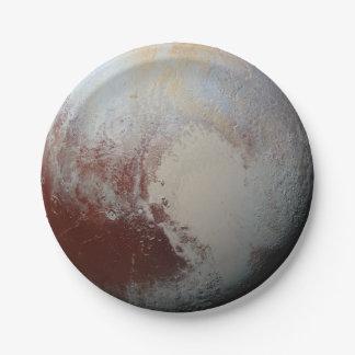 Prato De Papel Planeta de Pluto