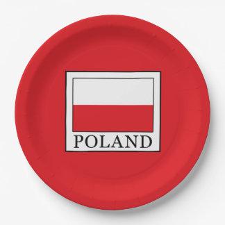 Prato De Papel Polônia