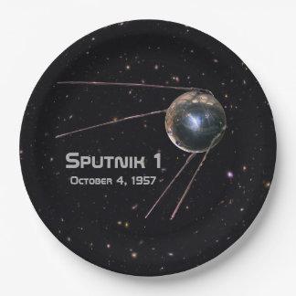Prato De Papel Satélite de Sputnik 1