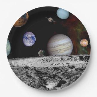 Prato De Papel Sistema solar novo