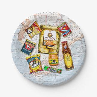 Prato De Papel Sul - marcas icónicas africanas da comida