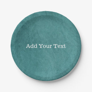 Prato De Papel Textura azul do tecido de Digitas da cerceta por