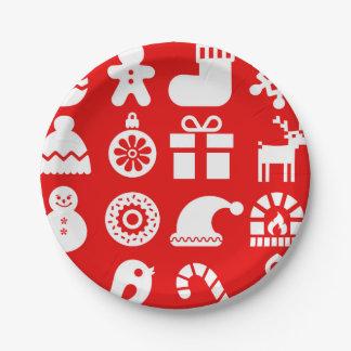 Prato De Papel ''' Tis a placa de papel do Natal da estação
