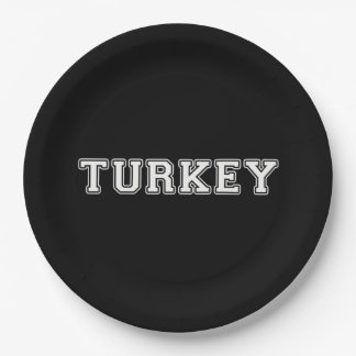 Prato De Papel Turquia