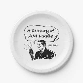 Prato De Papel Um século do rádio do AM