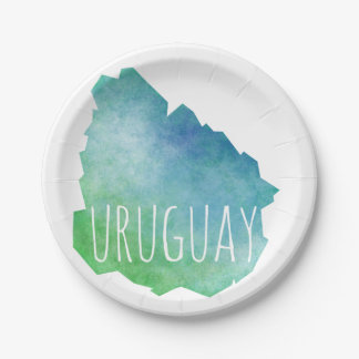 Prato De Papel Uruguai