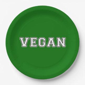 Prato De Papel Vegan