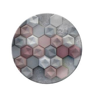 """Prato De Porcelana 8,5"""" arquitectónico placa decorativa da porcelana"""