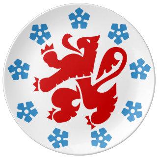 Prato De Porcelana A comunidade germanófona Bélgica - Eupen etc.