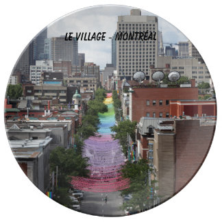 Prato De Porcelana gay, pride, orgulho, aldeia gay, Montreal