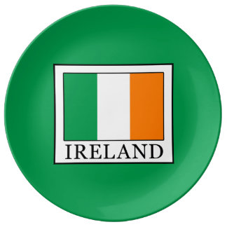 Prato De Porcelana Ireland