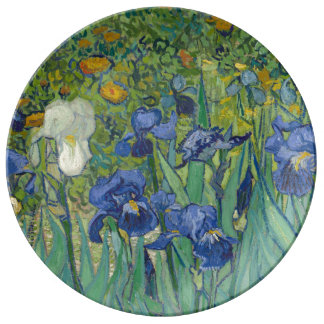 Prato De Porcelana Íris em Vincent van Gogh maio de 1889