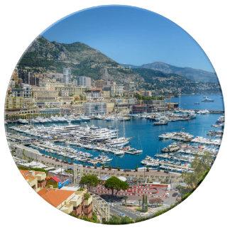 Prato De Porcelana Monte - Carlo Monaco