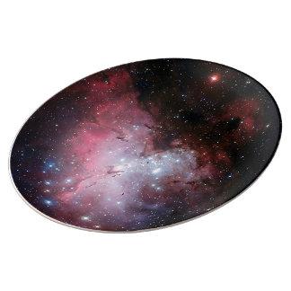 Prato De Porcelana Nebulosa de Eagle