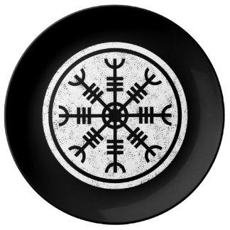 Prato De Porcelana O leme do incrédulo Viquingues