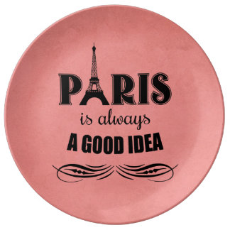 Prato De Porcelana Paris é sempre uma boa ideia