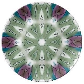Prato De Porcelana Placa artística da porcelana