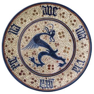 Prato De Porcelana Século XV da espanha