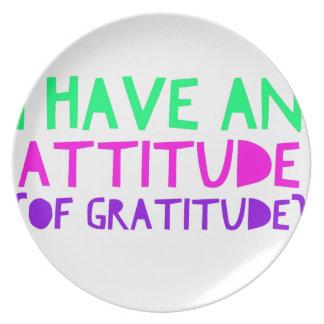 Prato Desintoxicação AA da recuperação da gratitude da