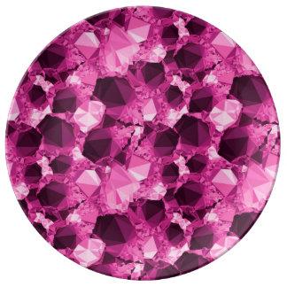 Prato Diamante roxo