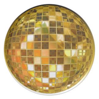 Prato Disco do partido da luz da dança do salto da bola