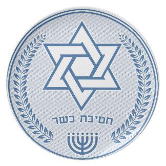 Prato Divisão Kosher
