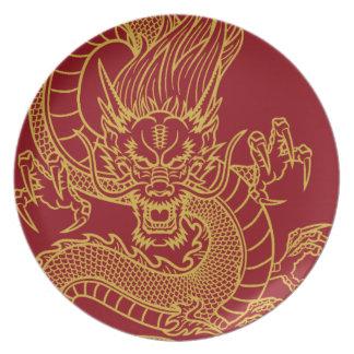Prato Dragão chinês